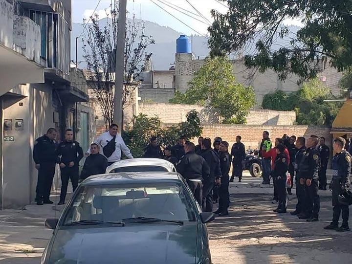 Resultado de imagen para Robo a casa habitación deja 4 detenidos y un policía herido