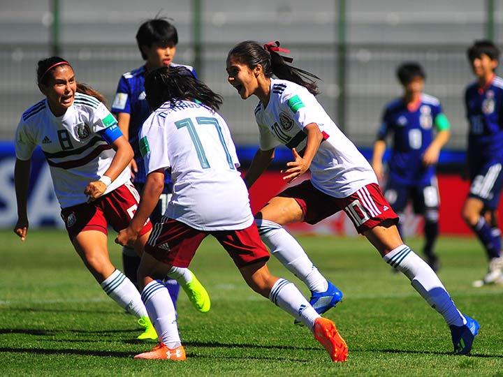 Tri Femenil Sub-17 enfrentará a Ghana en Cuartos del Mundial