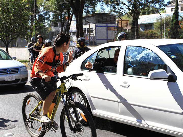 Tú no tienes derecho a fallarnos', dijo ciclista a López Obrador