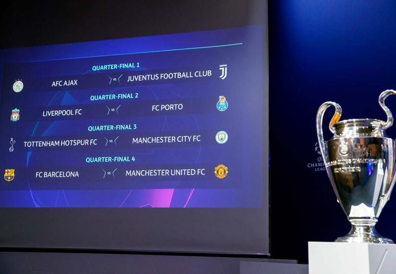 Barcelona Vs Manchester United En Cuartos De Champions