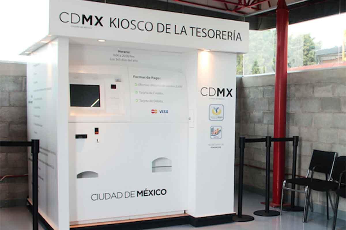 Abren Cuatro Nuevos Kioscos De La Tesorería En La Cdmx
