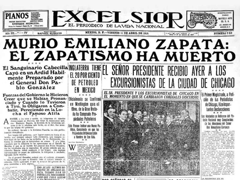 Murio Emiliano Zapata Noticia Que Llego En Telegrama Hace 100 Anos