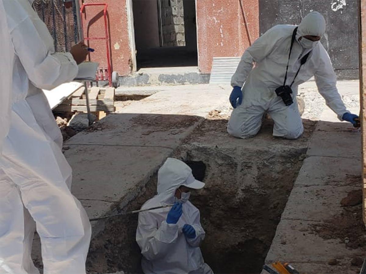 Catean 12 casas y hallan panteón clandestino en Ciudad Juárez