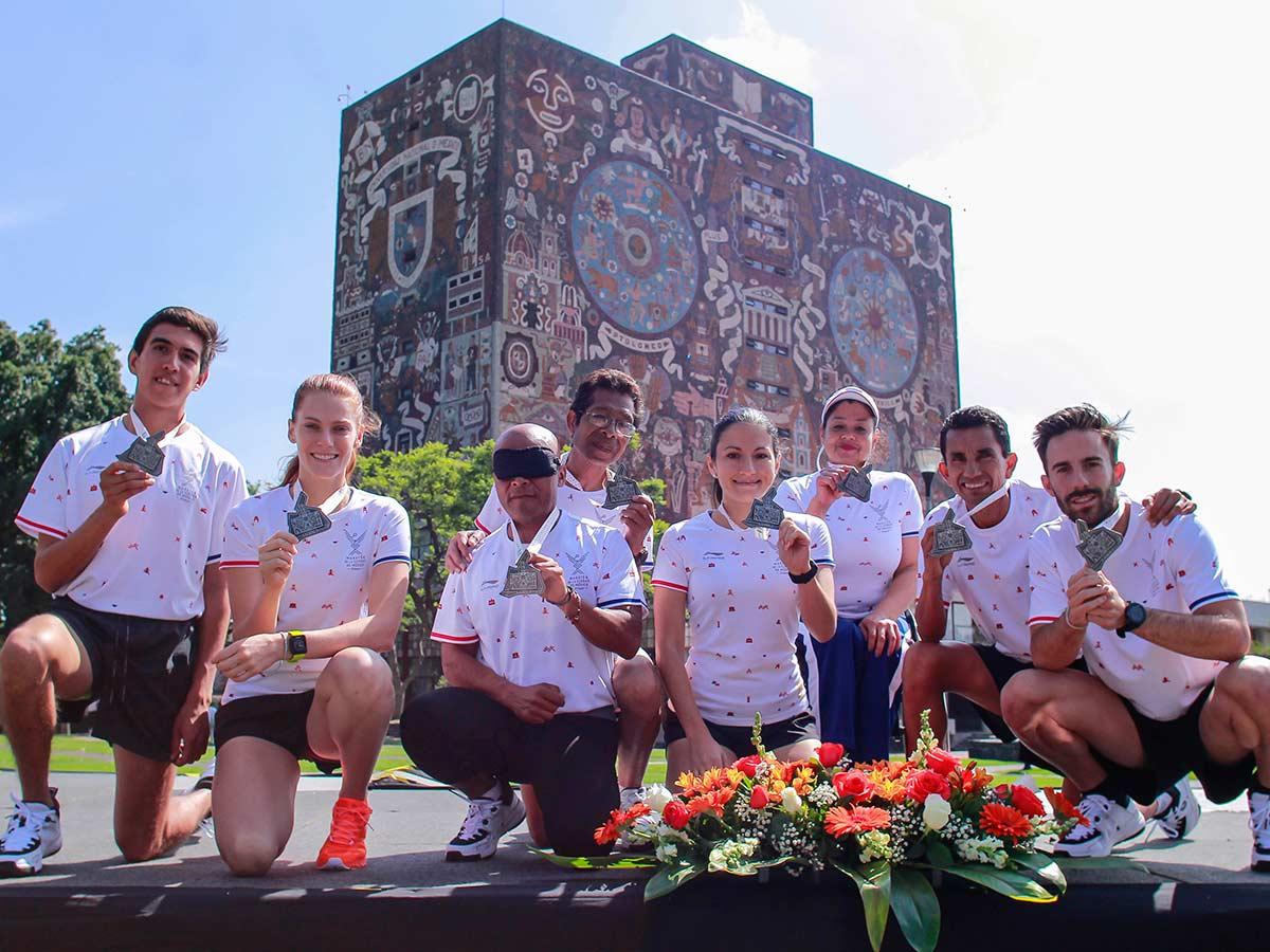 Medalla, ruta y playera nueva en el Maratón de la CDMX
