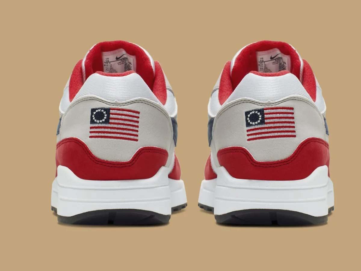 bomba Establecimiento Alentar  Nike retira tenis polémico con bandera de EU