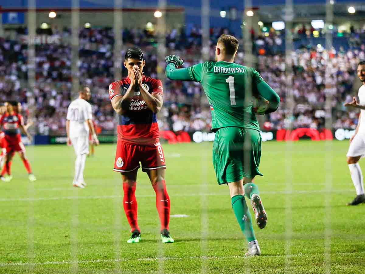 Amargo debut de Chivas en la International Champions Cup