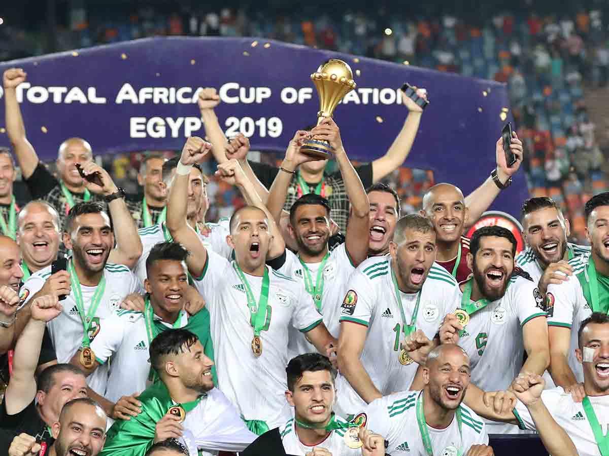 Argelia es el nuevo monarca de África