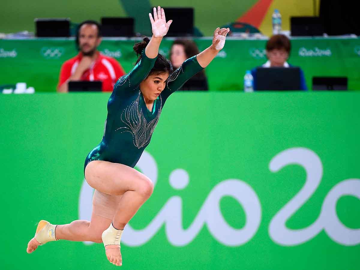 Resultado de imagen para fotos alexa moreno, gimnasta
