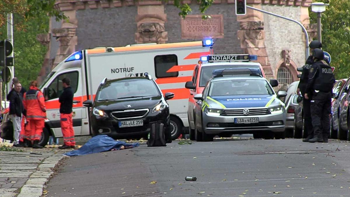Resultado de imagen para tiroteo en halle, alemania
