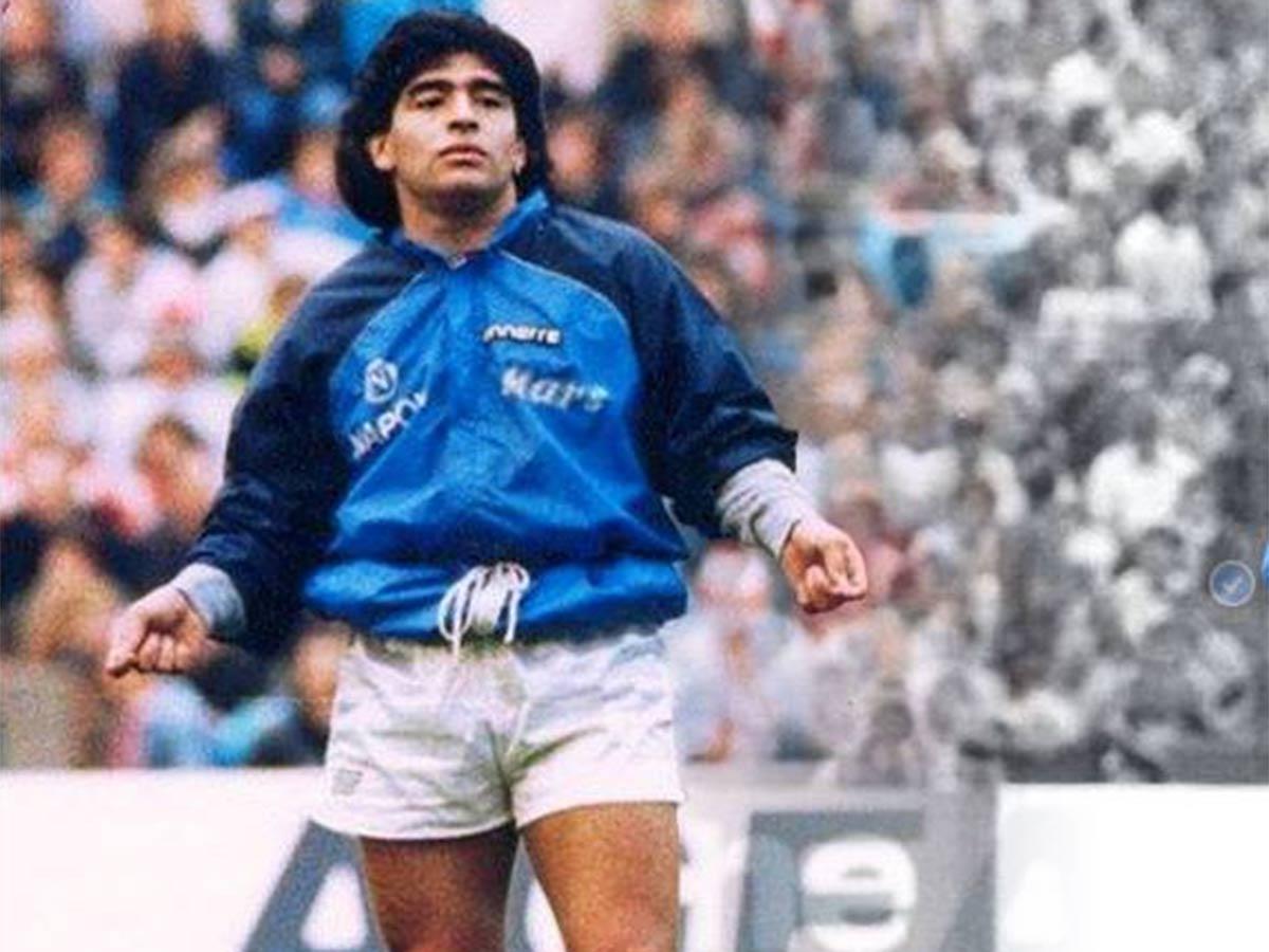 Un Día Ferrari Sucumbió Al Capricho De Maradona