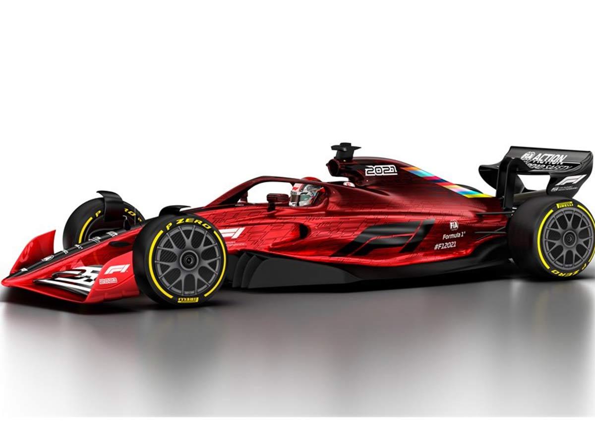 Así Lucirán Los Autos De La F1 Para 2021