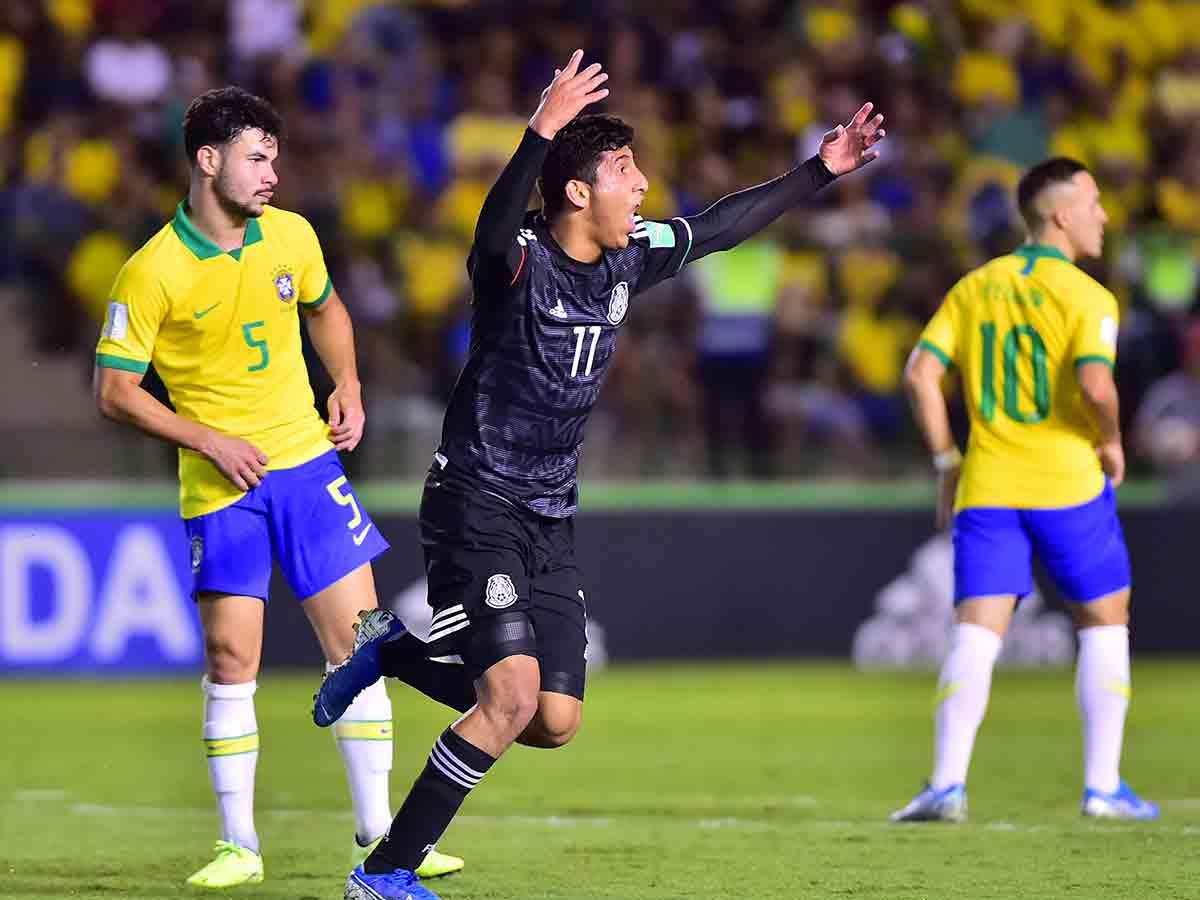 Revive las acciones de la final entre México y Brasil