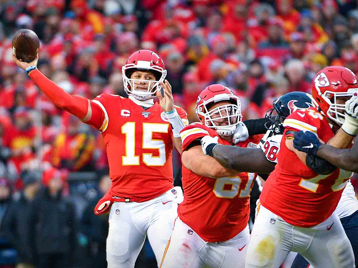 Chiefs y Texans van en busca de final de Conferencia