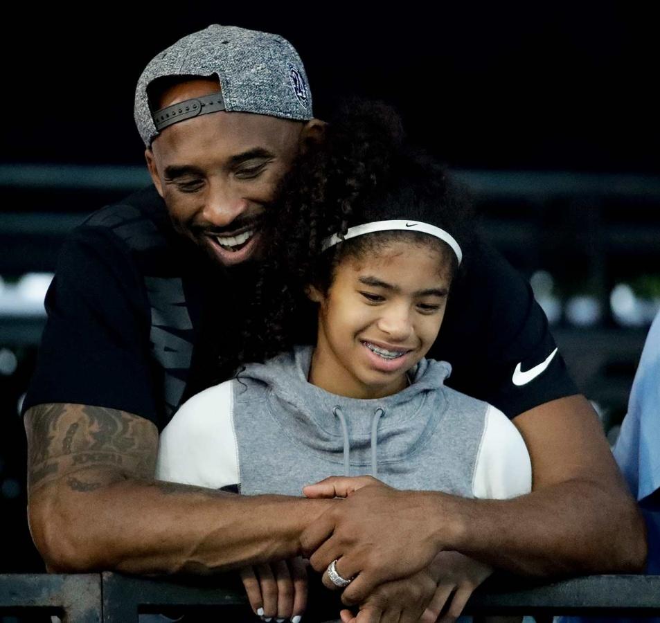 Gianna Bryant seguía los pasos de Kobe en las duelas