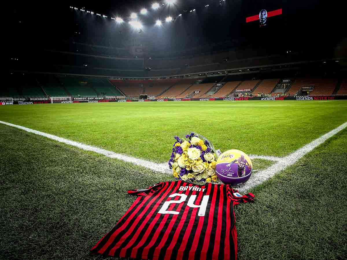 Milán se rinde a la memoria de Kobe Bryant