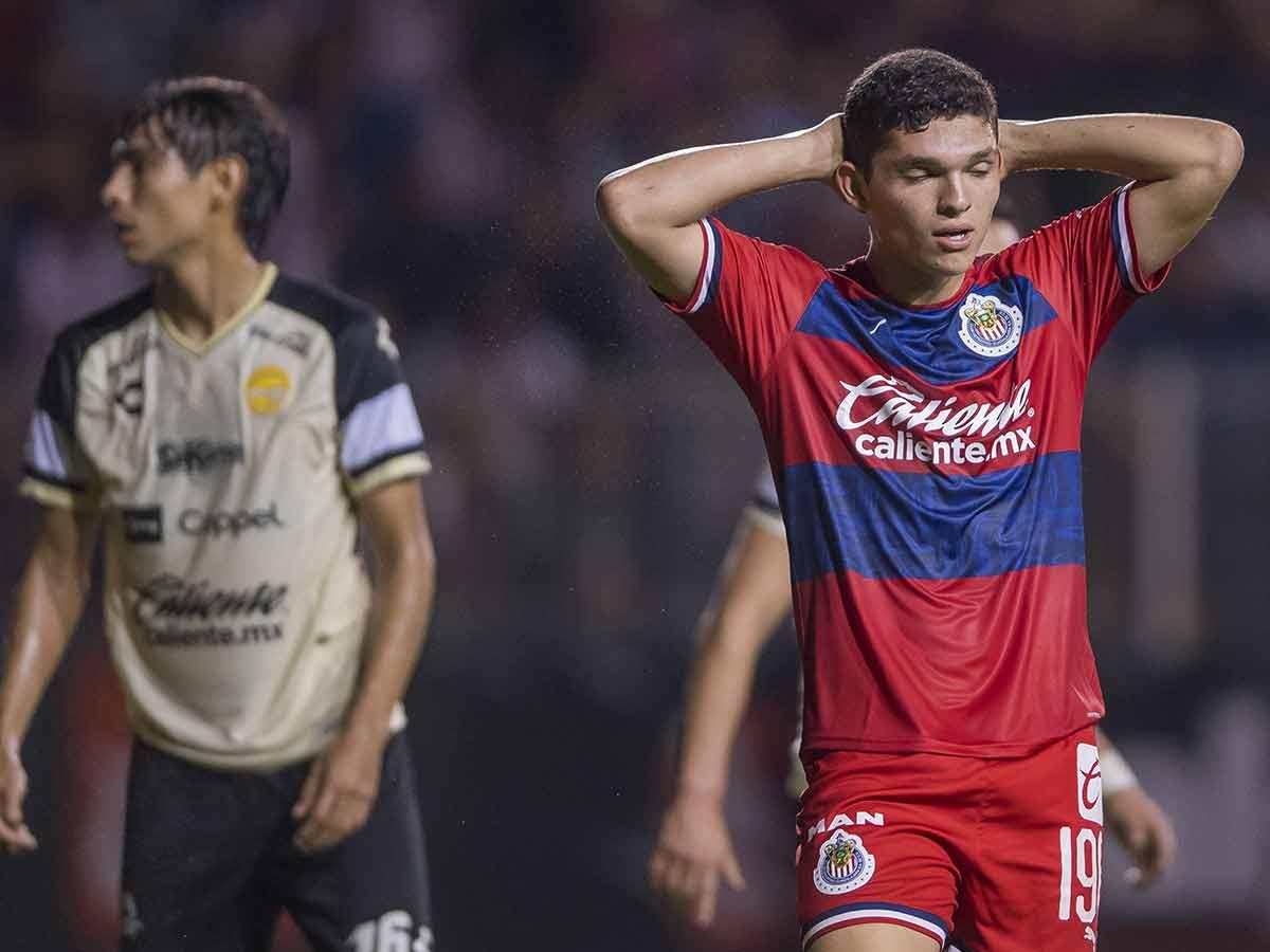 Chivas sucumbe ante Dorados en la Copa MX