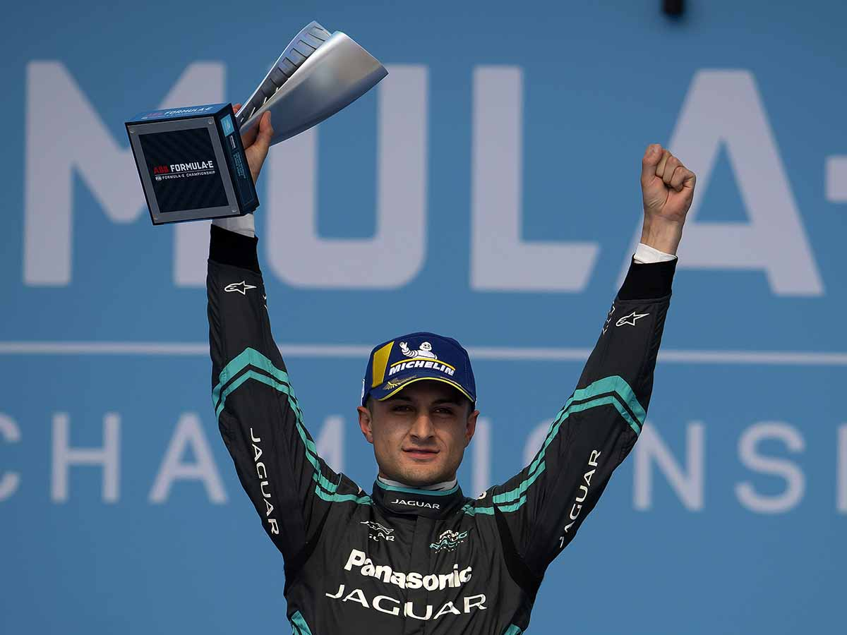 Mitch Evans, el gran vencedor en México