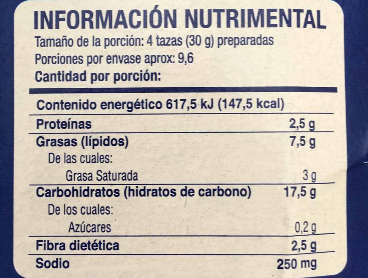 Cómo leer la tabla nutricional de tus alimentos favoritos?