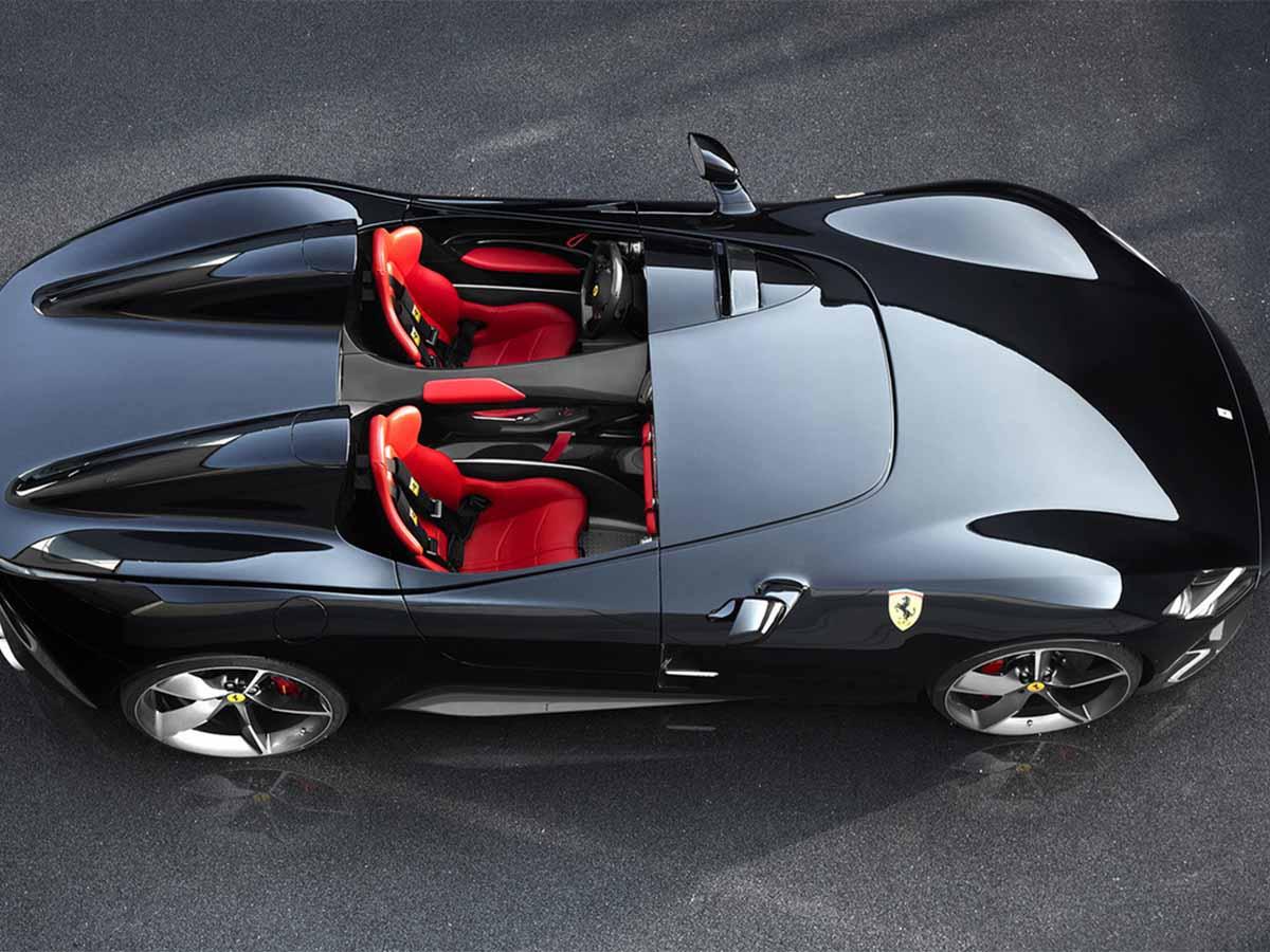Cuánto Vale El Ferrari Monza Sp2 Que Maneja Ibrahimovic