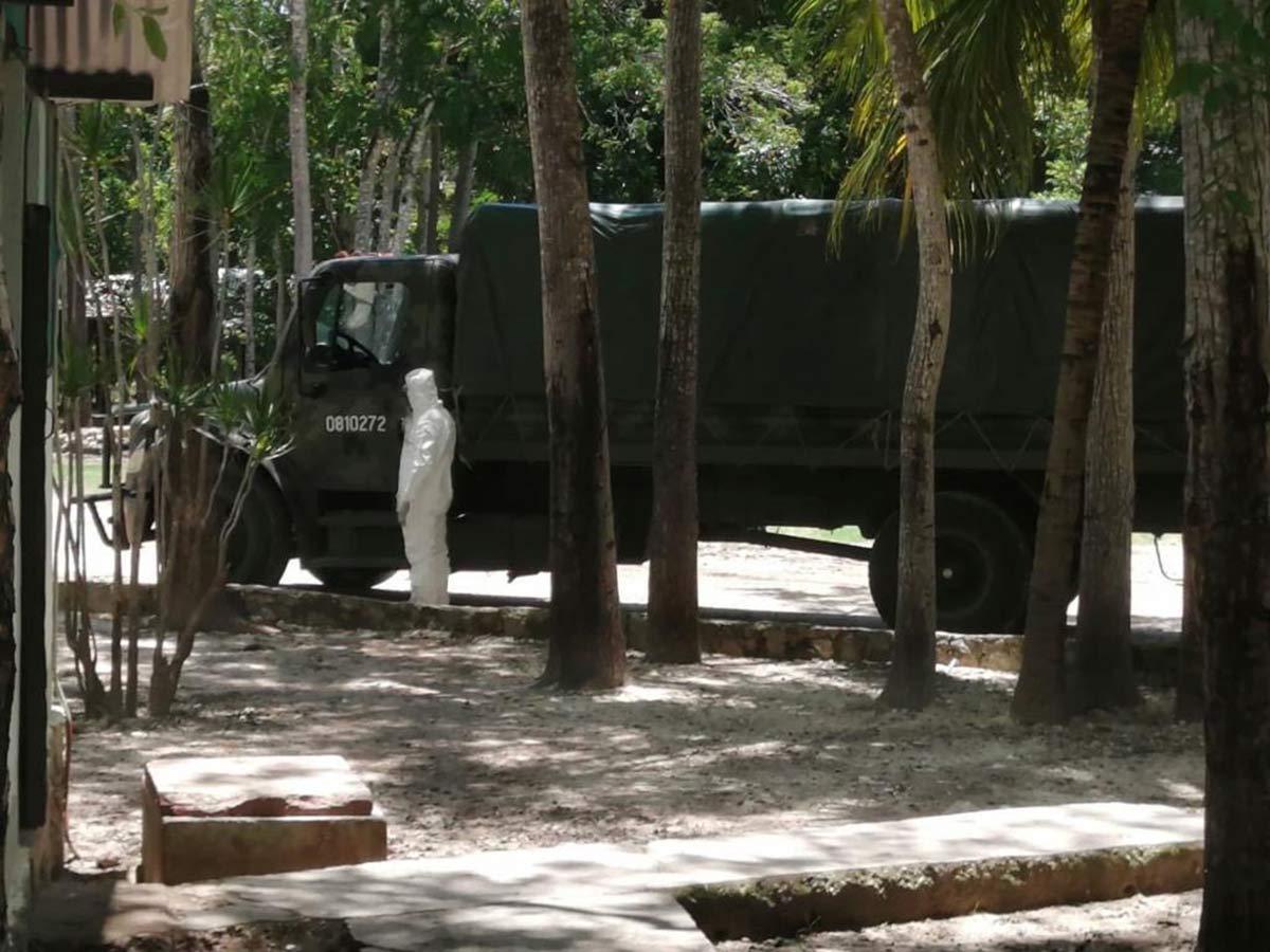 Investigan condiciones insalubres en instalación militar en México