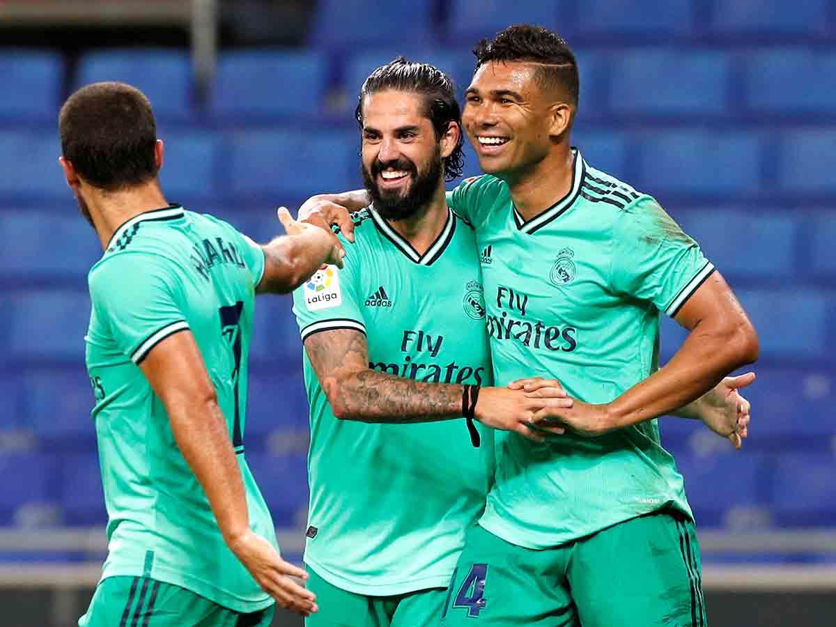 El Real Madrid confirma su liderato ante el mallorca