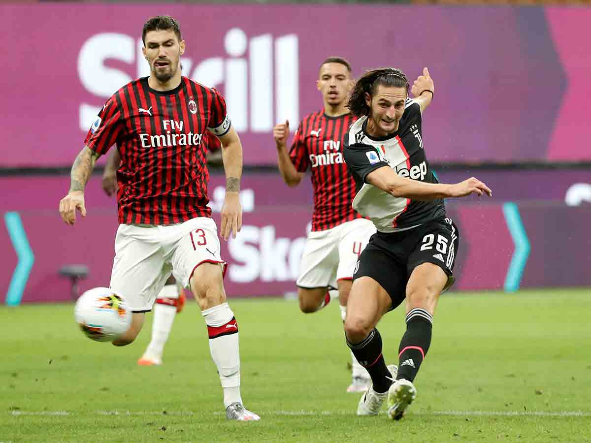 Remontada de locura, AC Milán vence a Juventus