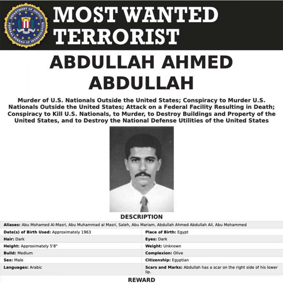 Asesinado segundo hombre al mando de Al Qaeda en Irán