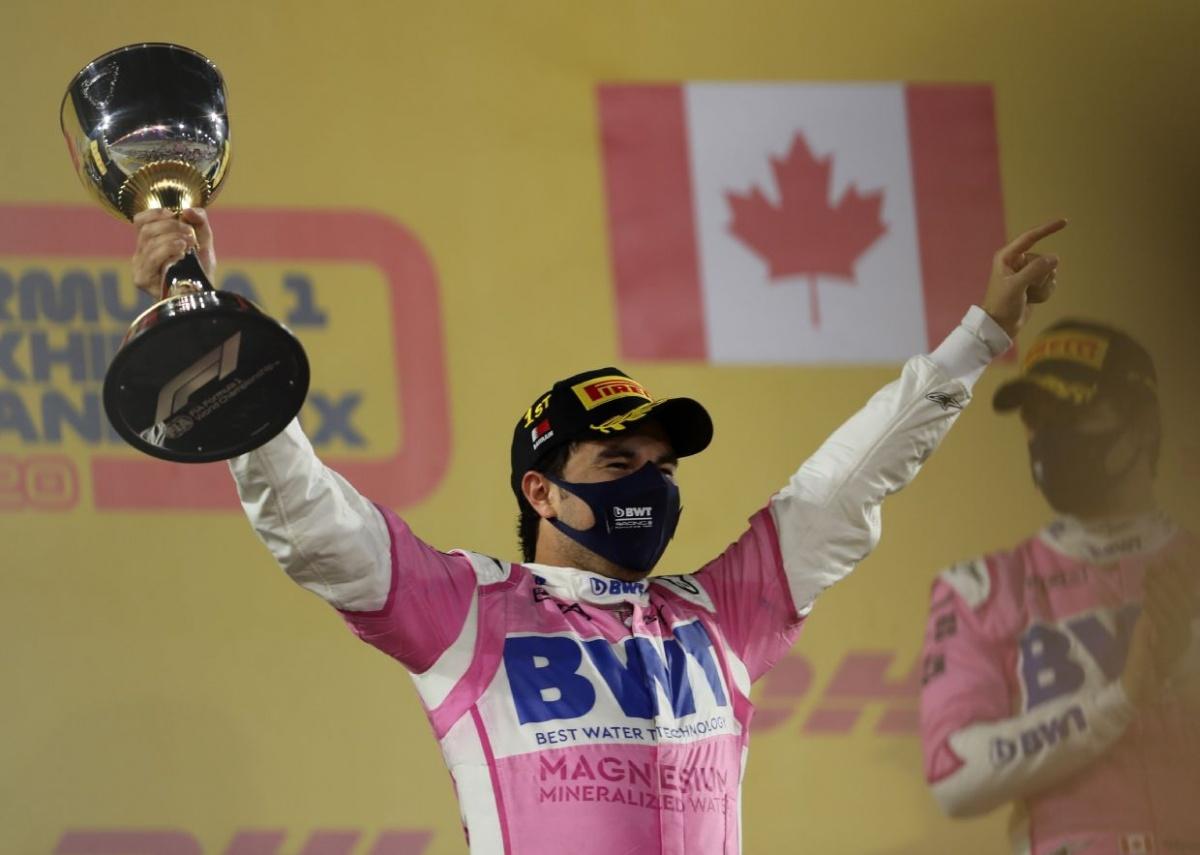 'Checo' Pérez gana su primer Gran Premio en F1