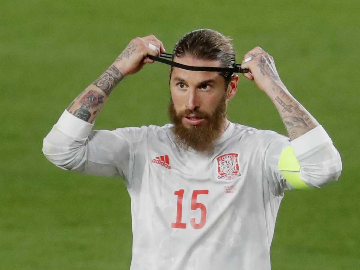 Sergio Ramos es duda para el Clásico