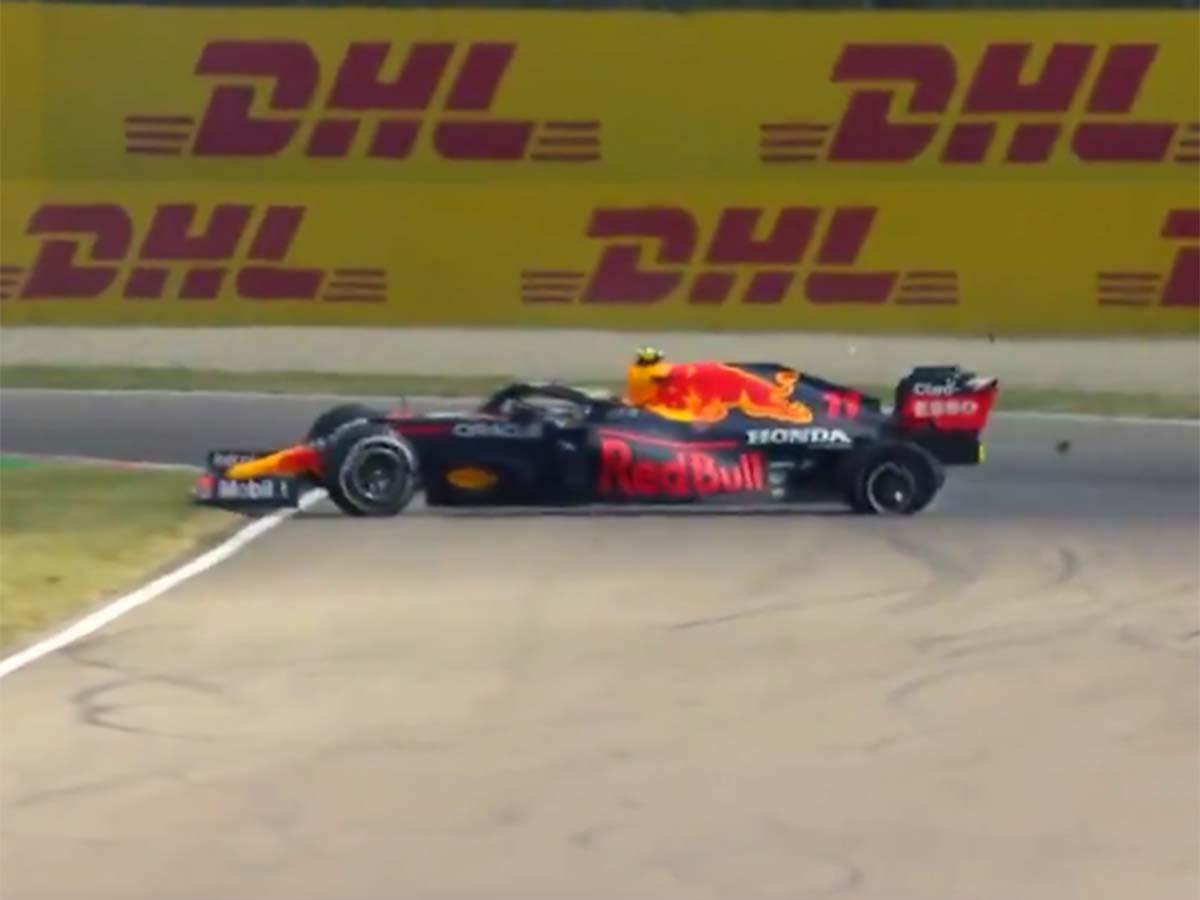Red Bull culpa a Checo Pérez por chocar con Esteban Ocon aunque confirman que falló la radio