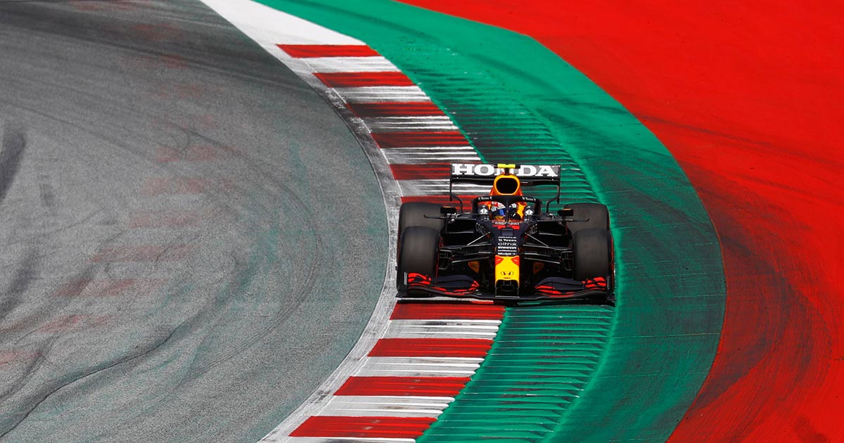 Bien por 'Checo' Pérez en Austria; saldrá tercero