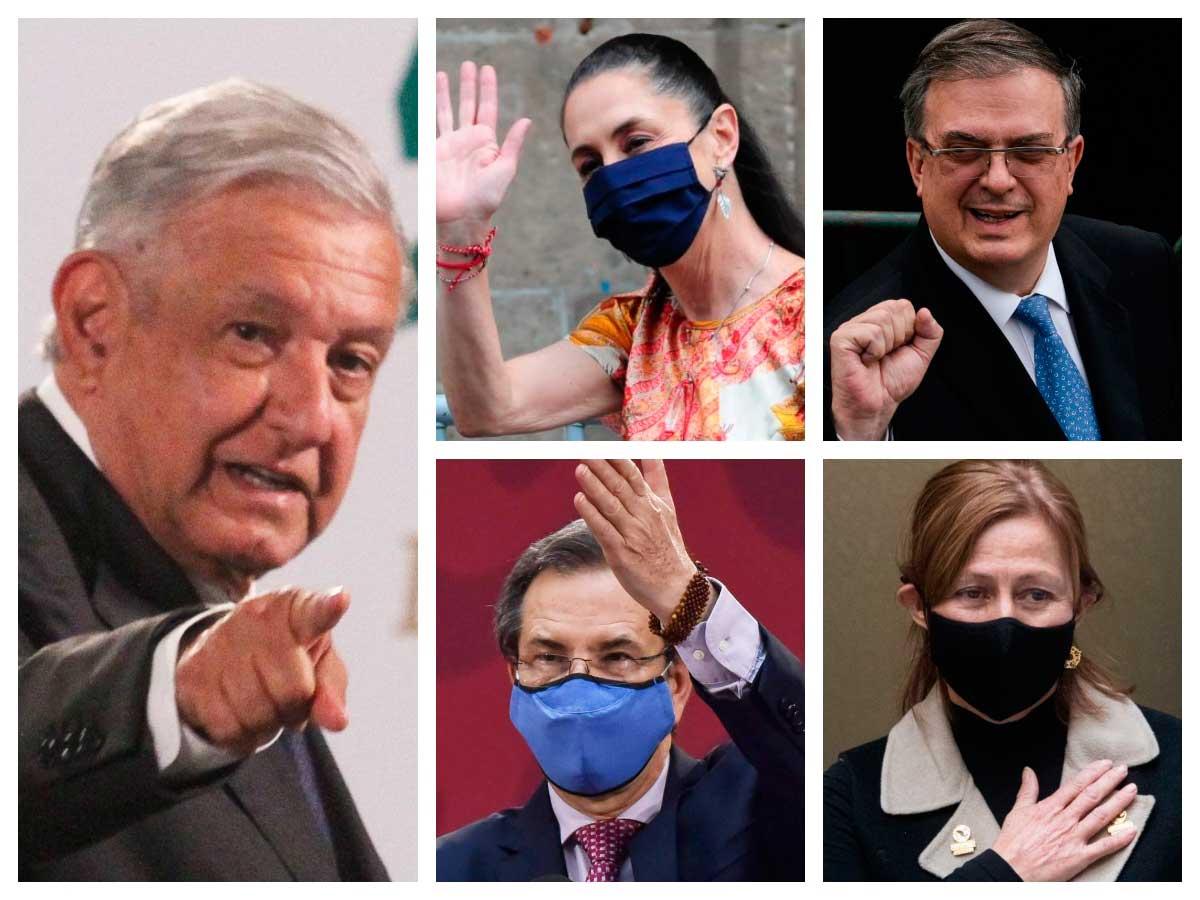 Quiénes son los presidenciables de López Obrador para 2024?