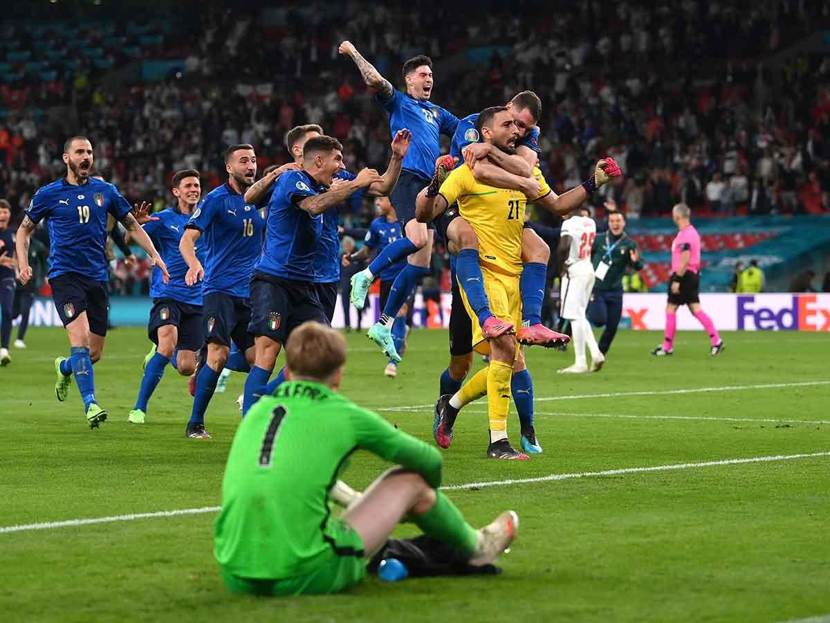 MINUTO A MINUTO: Italia vs Inglaterra (Final - Eurocopa)