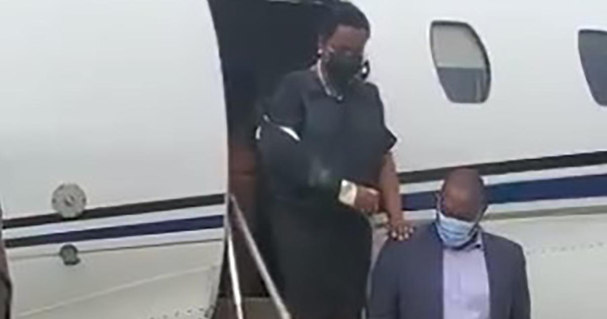 Primera dama Martine Moïse regresa a Haití para funeral de su esposo