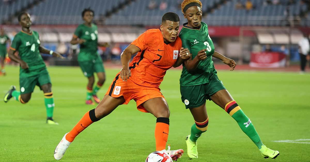 No se cansaron de anotar: Zambia 3–10 Holanda