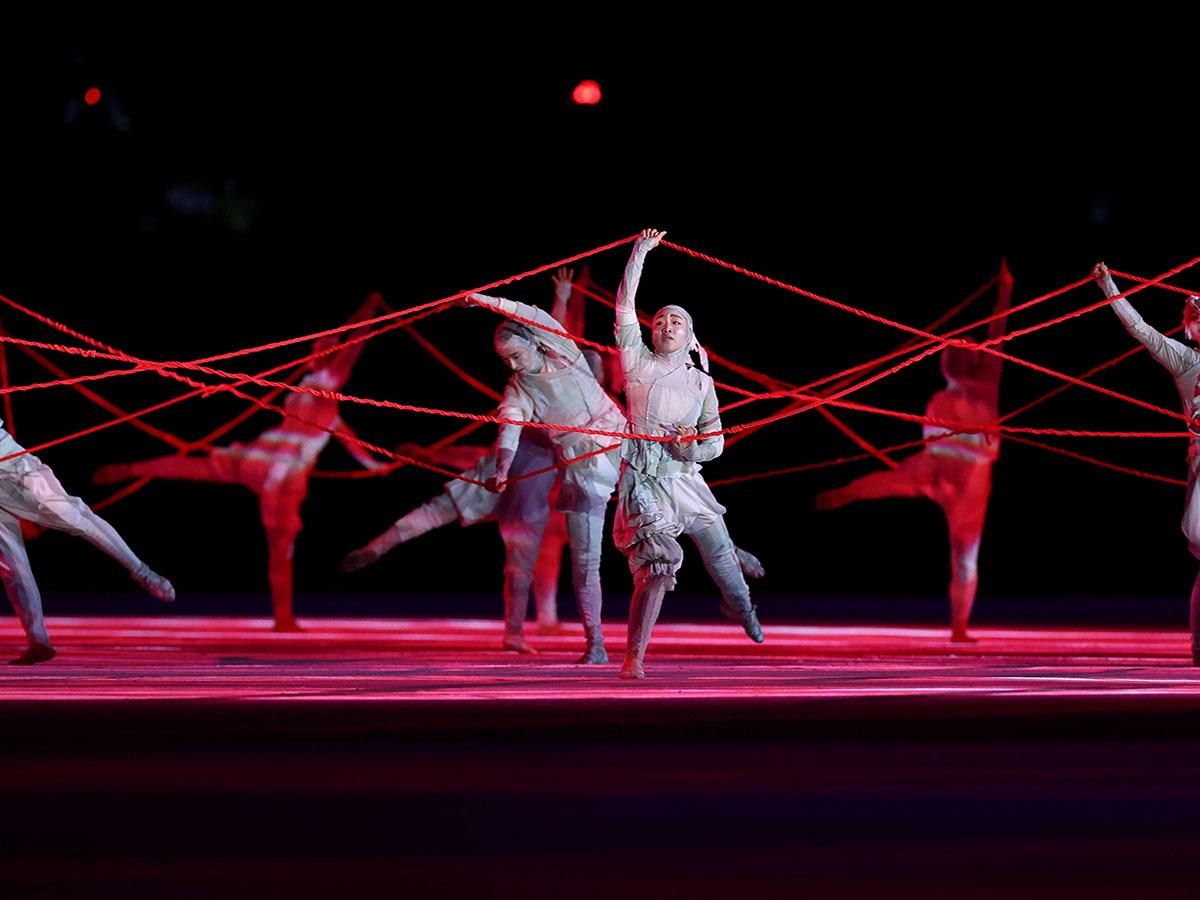 En imágenes la ceremonia de inauguración de los Juegos Olímpicos de Tokio 2020