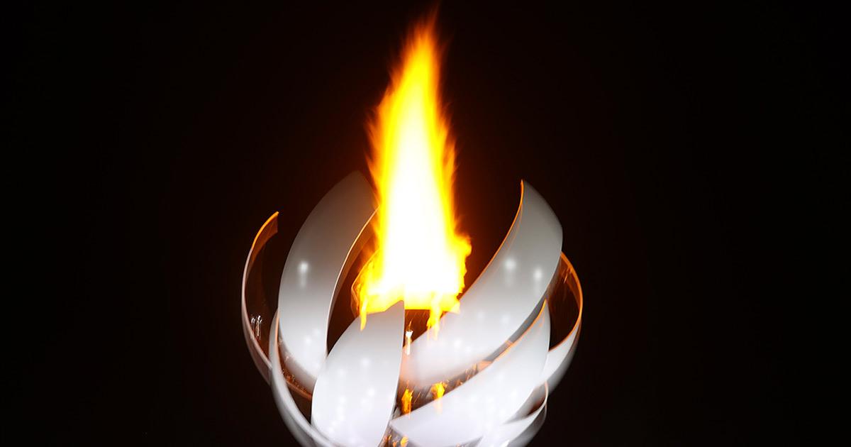 Llama olímpica en Tokio es la primera que arde con hidrógeno
