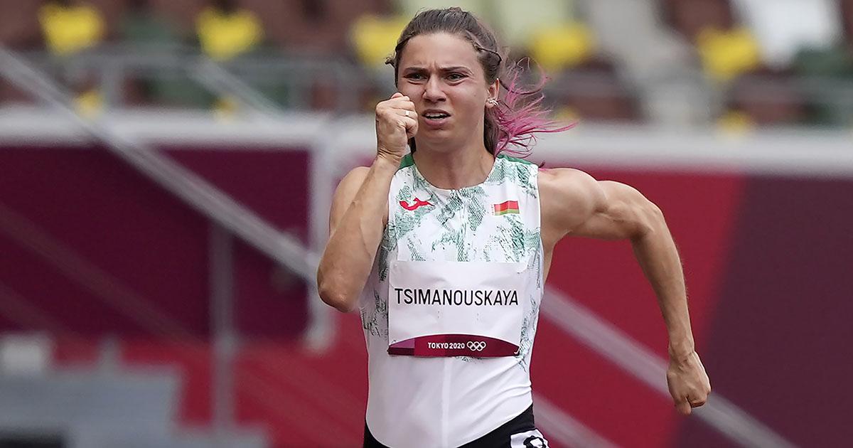 Al llegar a casa le esperaba un castigo a atleta olímpica