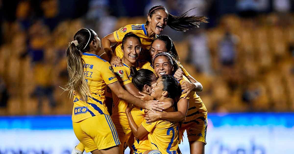 Tigres Femenil sigue arrasando en la cima de la liga