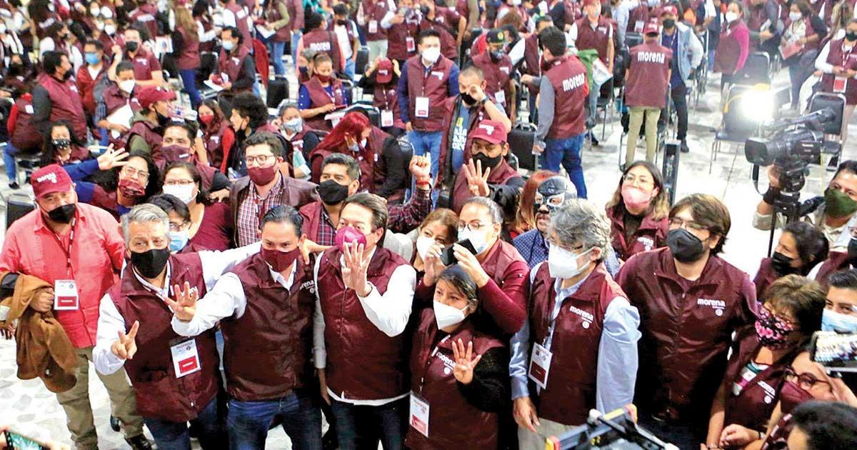Morena activa defensa de la 4T en la CDMX; promoverá continuidad del Presidente
