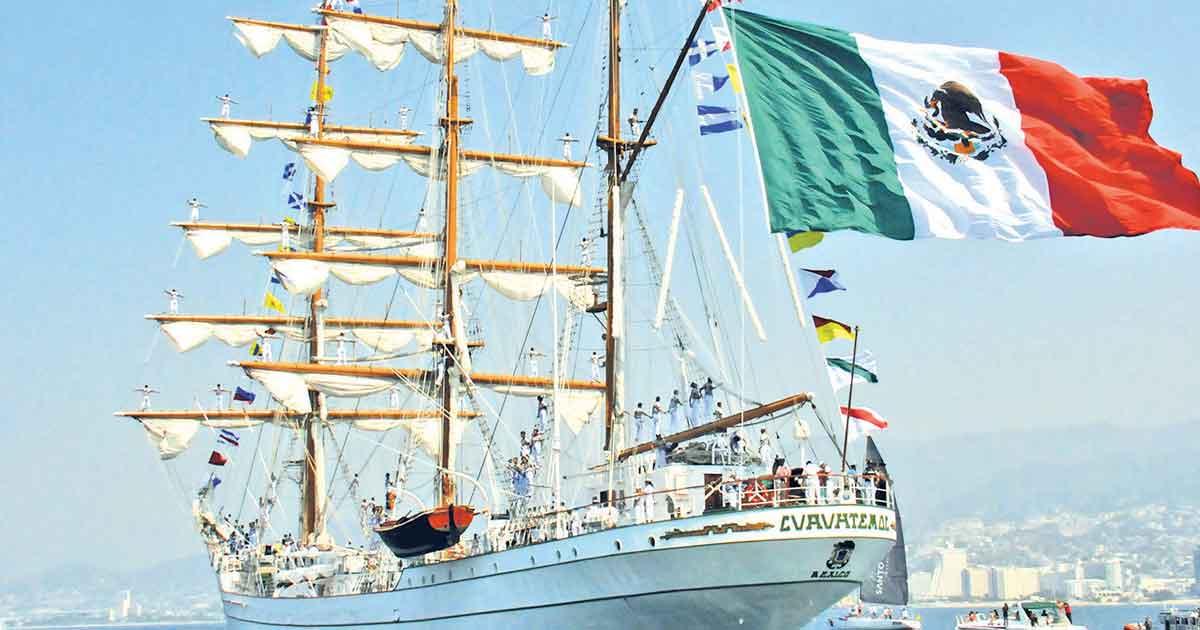 Armada de México sopla las 200 velas; conmemora bicentenario de su creación