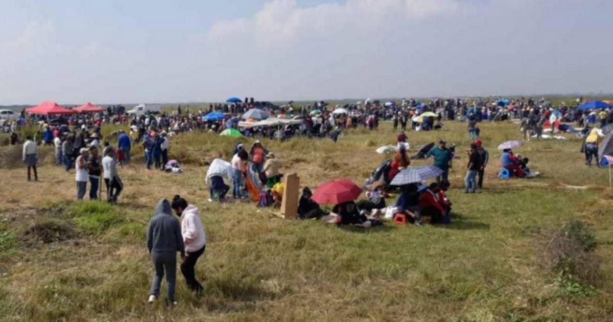 Se retiran invasores de predios en vaso del Lago de Texcoco