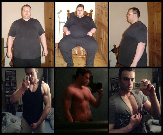 De obeso mórbido a fisicoculturista