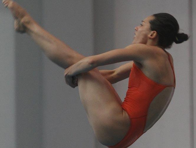 Laura Sánchez gana plata en Serie Mundial de Clavados 2014