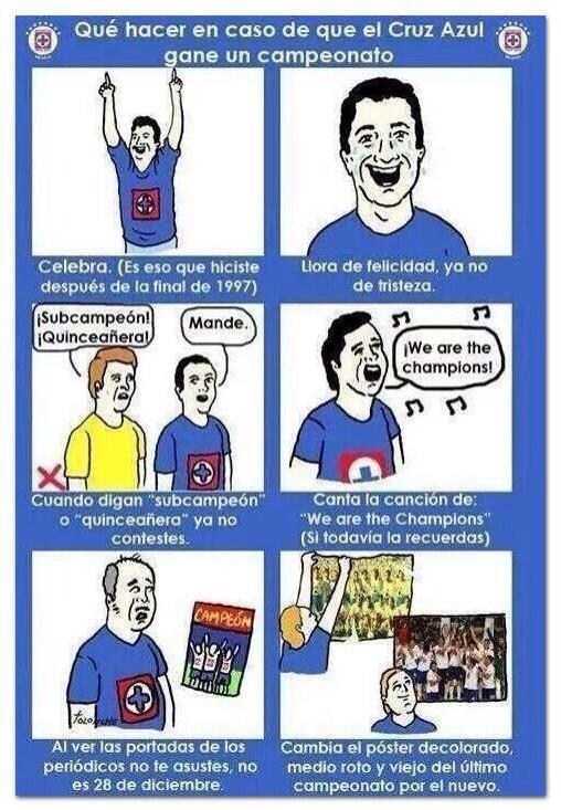 FOTOGALERÍA: Y ahora que ganó... los 'memes' de Cruz Azul