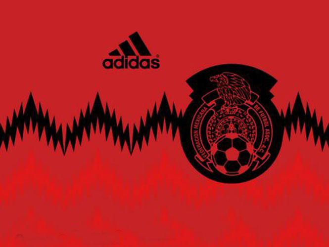 Selección de México vestirá de rojo y negro en juegos de visita 3ca75c1184cfd