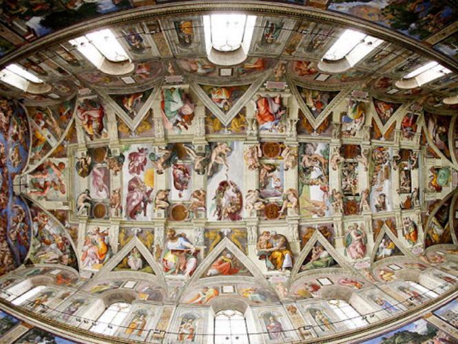 Pasea En 3d Por La Capilla Sixtina Sede Del Cónclave Papal