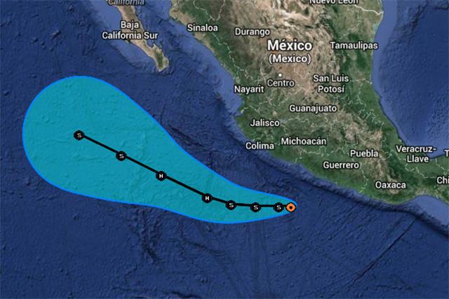 Protección Civil de Guerrero decretó alerta naranja para el suroeste del estado, abarcando la franja costera y región de la montaña.