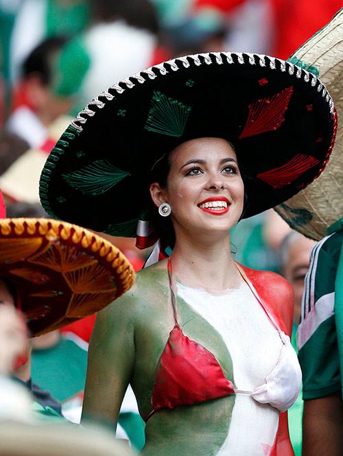 Duelo de bellezas se da en el Estadio Castelao de Fortaleza (Reuters)