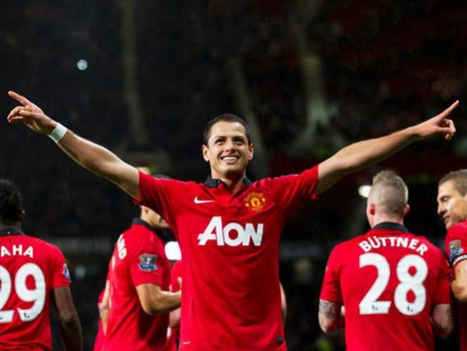 59 goles tiene en su cuenta Javier Hernández desde que llegó a Manchester (AP)